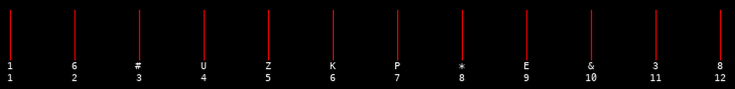 Timing diagram for the note C♯3.