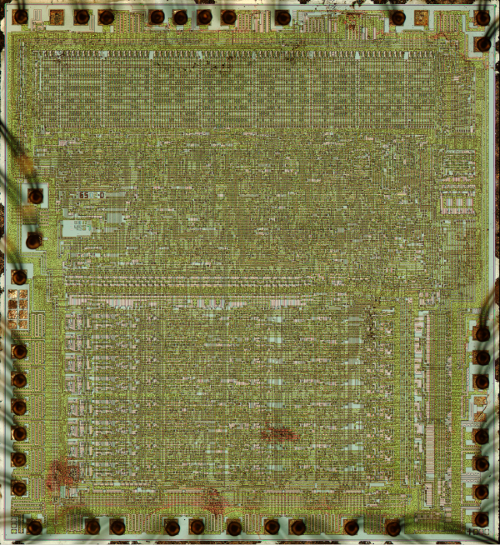 The 6502 processor chip