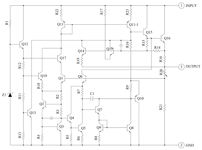 schematic_kia7805 s700 reverse engineering a \u003cdel\u003ecounterfeit\u003c\ del\u003e 7805 voltage regulator lm7805 wiring diagram at readyjetset.co