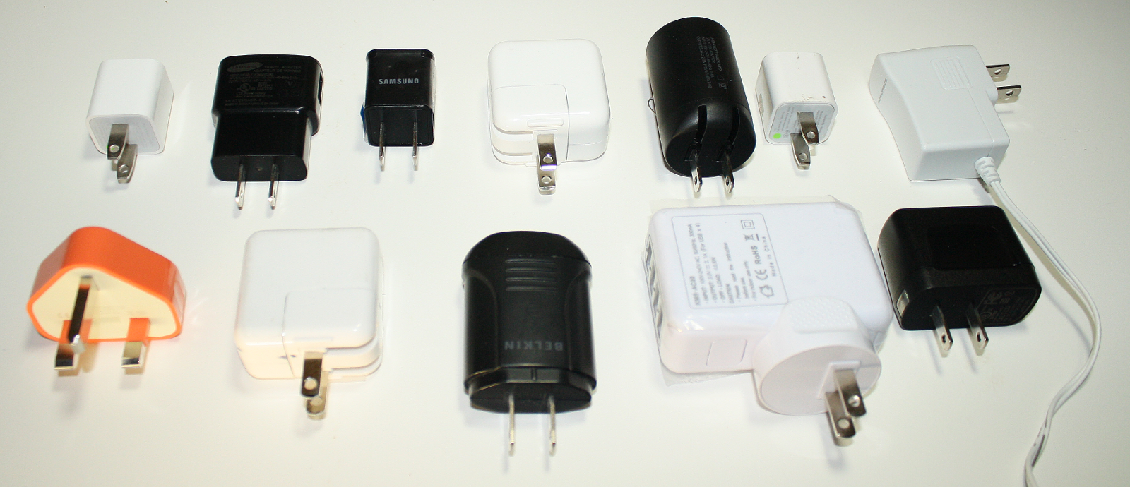 A Dozen Usb Chargers In The Lab Apple Is Very Good But Not Quite The Best