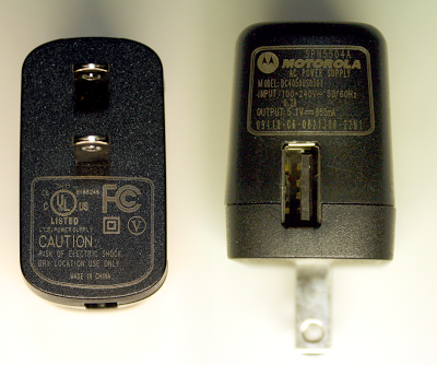 Motorola phone charger