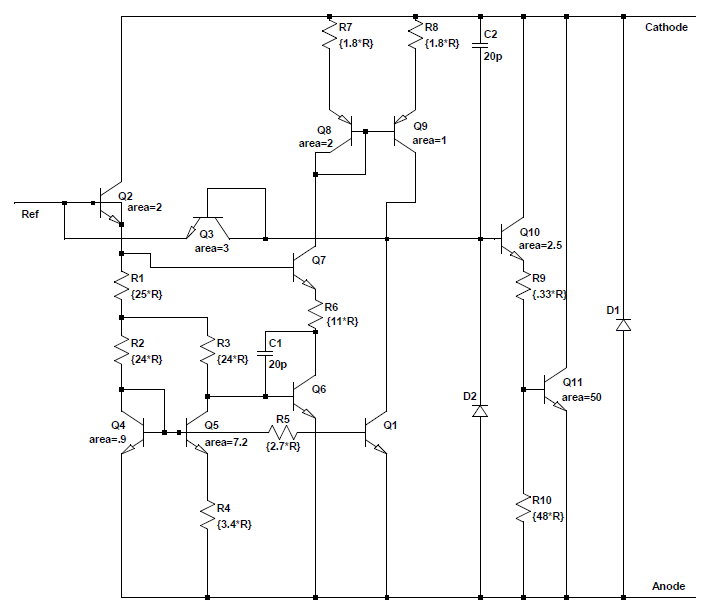 Reverse-engineering the TL431: the most common chip you've never