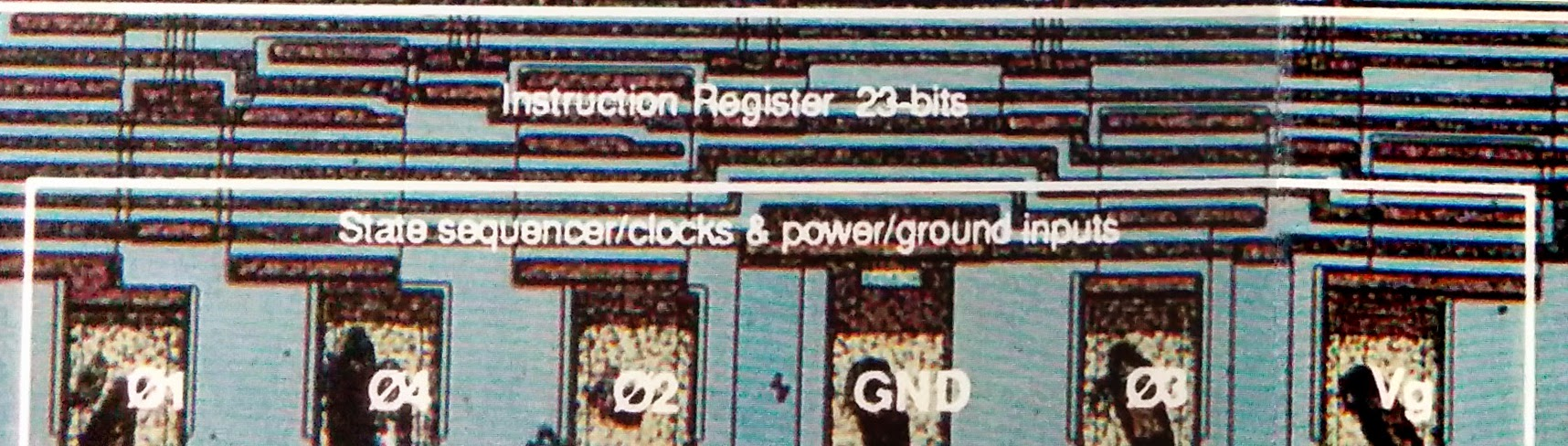 The Texas Instruments Tmx 1795 Almost First Forgotten Free Electronic Circuits 8085 Projects Blog Archive Numerically Detail Of Al1 Die Photo Showing Fictional Instruction Register 23 Bits