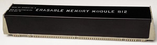The erasable core memory module from the Apollo Guidance Computer.