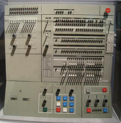 IBM System/360 Model 40. Photo by Daderot.