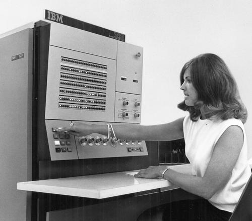 IBM System/360 Model 22. Photo from IBM.