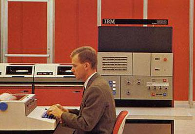 IBM System/360 Model 25. Photo from IBM.