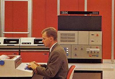 IBM System/360 Model 25. Photo from IBM.