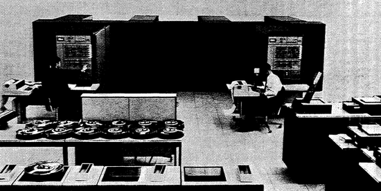 IBM System/360 Model 67, duplex system. From IBM System/360 System Summary page 6-13