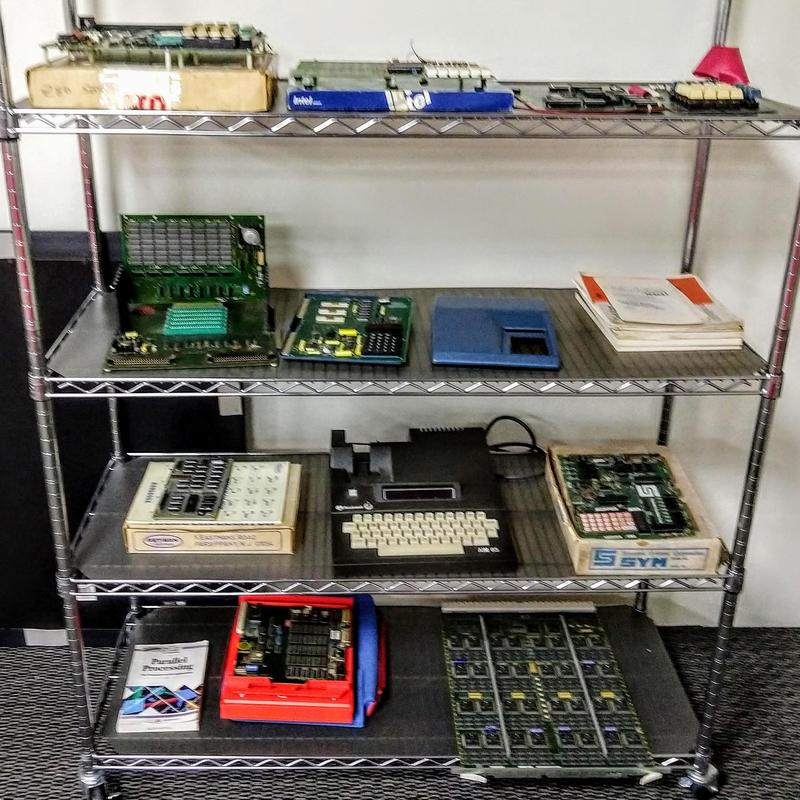 A variety of development boards and single-board computers.