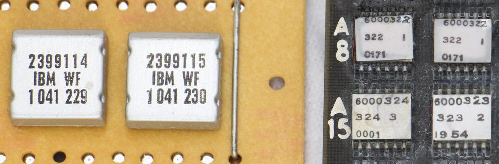 SLT modules (left) are considerably larger than ULD modules (right). A ULD module is 7.6 mm × 8 mm.