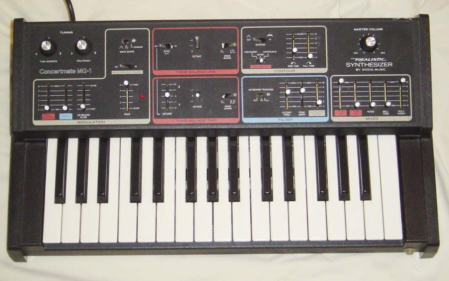 Concertmate MG-1 Synthesizer