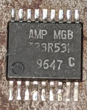 The IR3R53N chip. Photo courtesy of John McMaster.