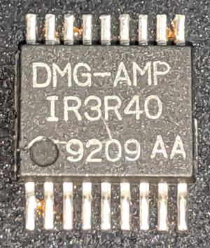 The IR3R40 chip. Photo courtesy of John McMaster.