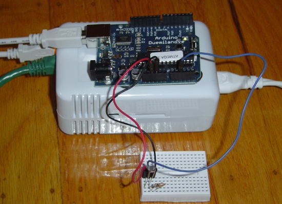 SheevaPlug with Arduino