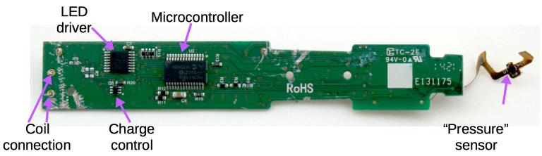 Sonicare toothbrush teardown: microcontroller, H bridge, and