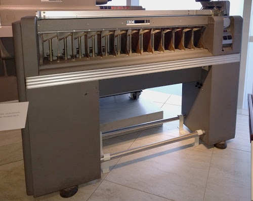IBM Type 82 punched card sorter.
