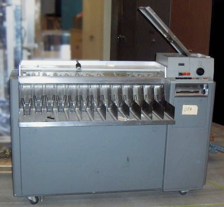 IBM Type 84 card sorter. Photo courtesy of Computer History Museum.