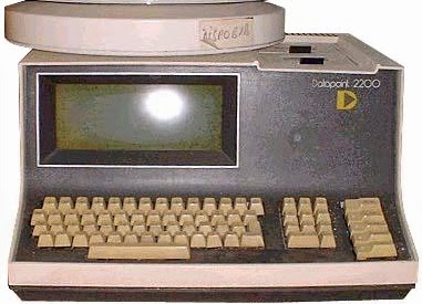 The Datapoint 2200 programmable terminal / computer. Photo by Ecksemmess CC BY-SA 3.0  via Wikimedia Commons.