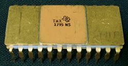 The Texas Instruments TMX 1795 microprocessor. Courtesy of Computer History Museum.