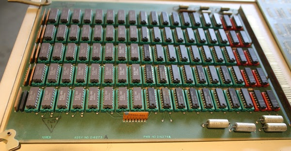 A 128KB memory card from the Xerox Alto.