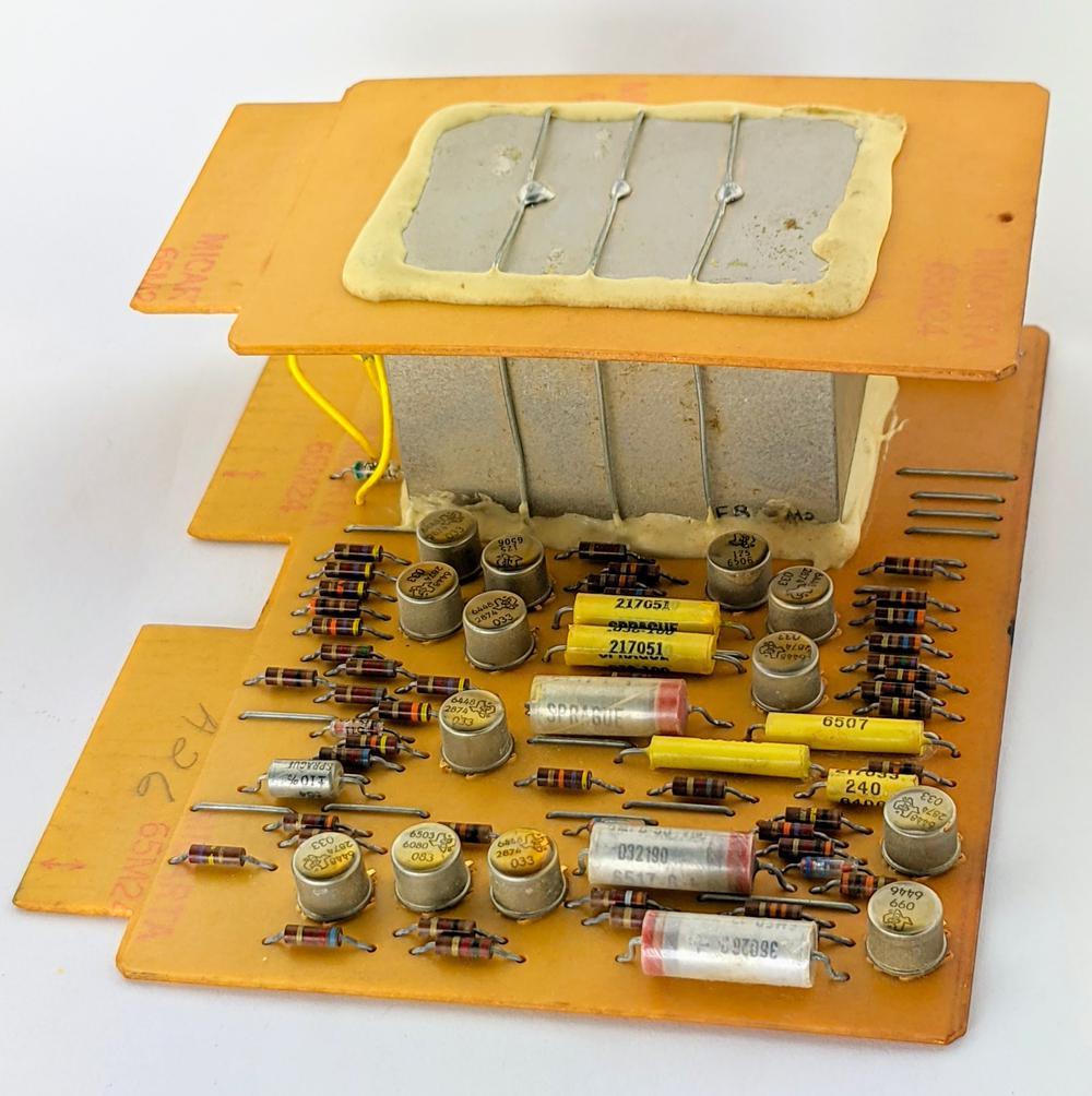 The IBM modem board, type HGB.