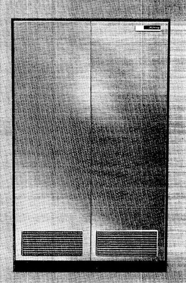The IBM 1448 Transmission Control Unit was a large cabinet. Photo from IBM 1448 Transmission Control Unit manual.