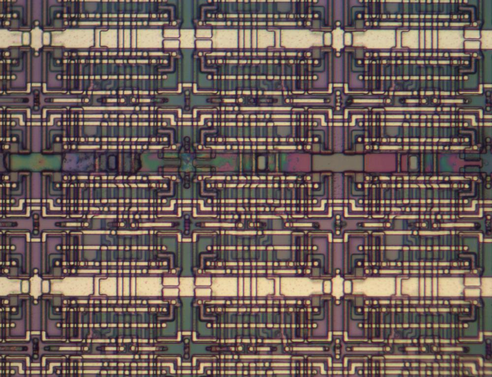 Memory cells in the CPU.