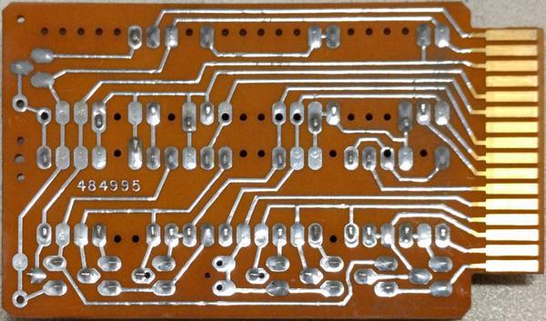 IBM SMS card type AXV 372244