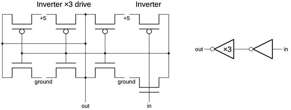 Buffer schematic.